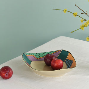 Vintage Rosenthal Studio Line 'Flash' Bowl by Dorothy Hafner - A