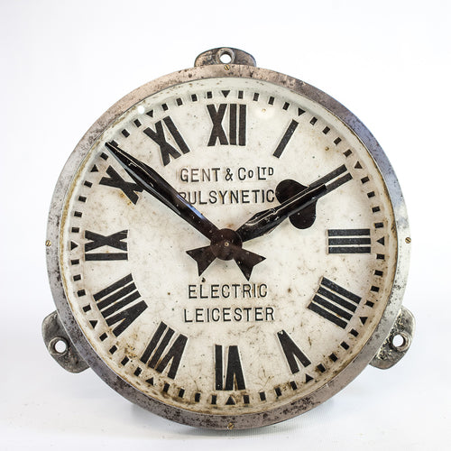 Cast Iron Gents Clock