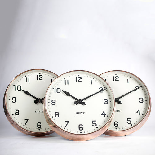 Copper Gents Clock