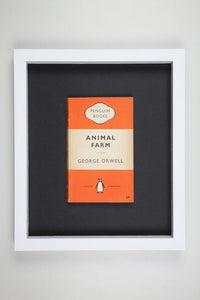 Animal Farm - Framed Vintage Penguin