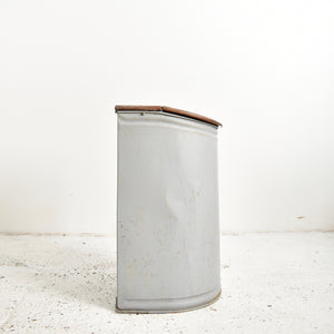Antique Tea Storage Grocery Bin – Small