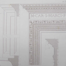 Load image into Gallery viewer, Vintage Architectural Engraving of Renaissance Rome - Plate 76