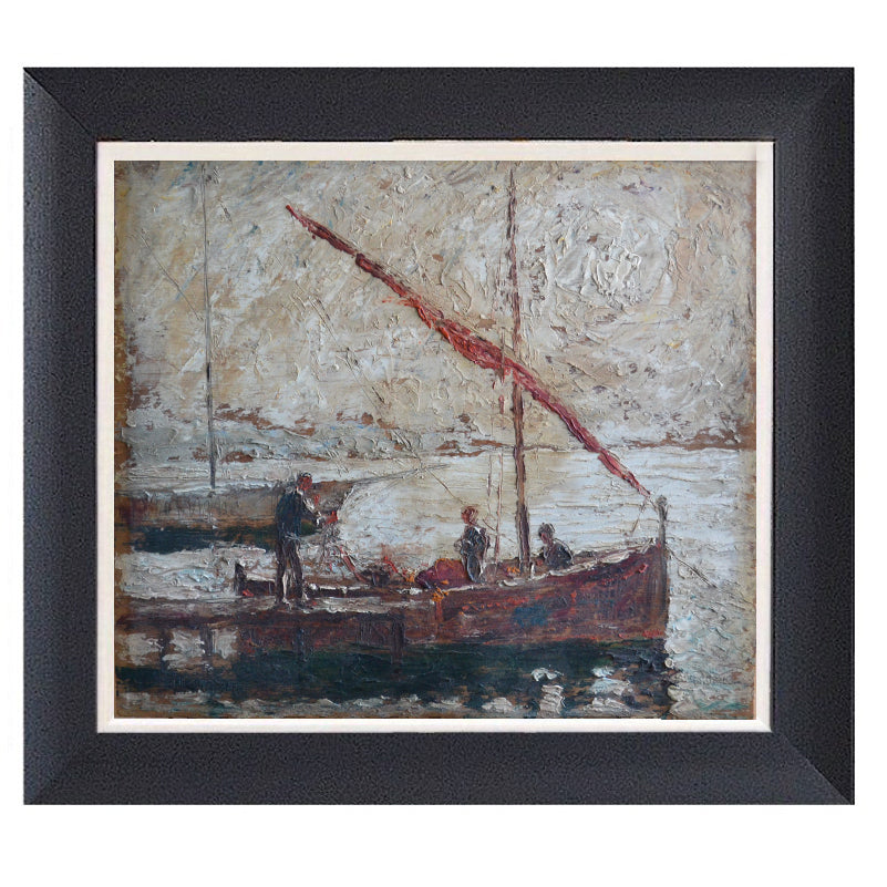 Early 20th Century French Painting - 'Morning Tide'
