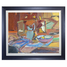 Load image into Gallery viewer, French Still life Painting, 'Blue Jug'