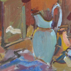 French Still life Painting, 'Blue Jug'