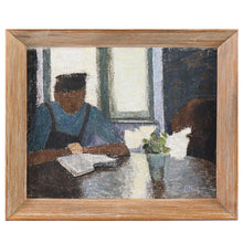 Load image into Gallery viewer, Mid-century, Swedish Portrait, 'A Quiet Moment'