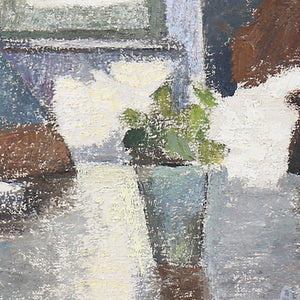 Mid-century, Swedish Portrait, 'A Quiet Moment'