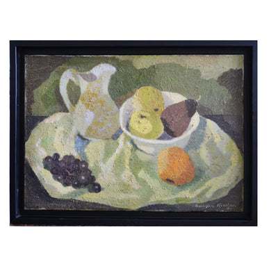 1950 Still Life 'Jug and Fruit' - Barbara Konstan