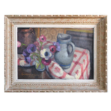 Load image into Gallery viewer, 1927 Painting 'Anemones' Georges Lugon (1896-1989)