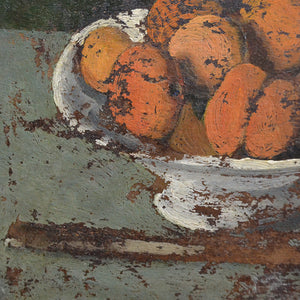 1930 French Painting 'Apricots'