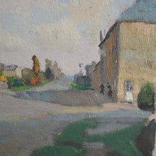 Load image into Gallery viewer, 1940 Painting 'Sunny French Village'