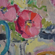 Load image into Gallery viewer, 1942 Swedish Painting, 'Poppies' KARL ENOCK OHLSSON