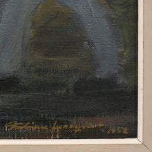 Load image into Gallery viewer, 1952 Painting, 'Reapers' by Fabian Lundqvist