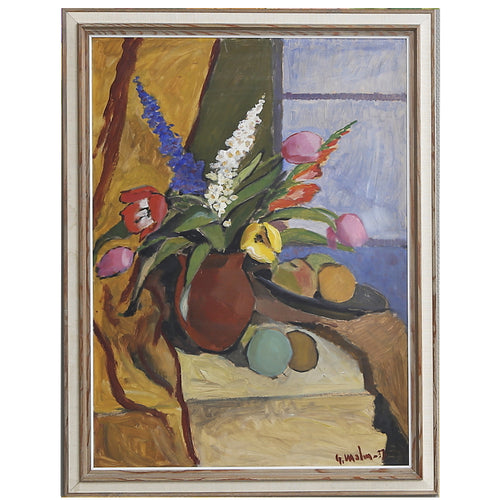 Large, 1937 Still Life, 'Tulip Bouquet'