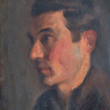 Load image into Gallery viewer, Mid-Century, Self-Portrait Painting, Augustin Memin (1910-1981)