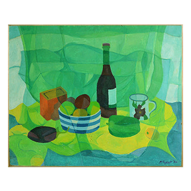 Painting, 'Bottle and Pepper' Horas Kennedy (1917-1997)