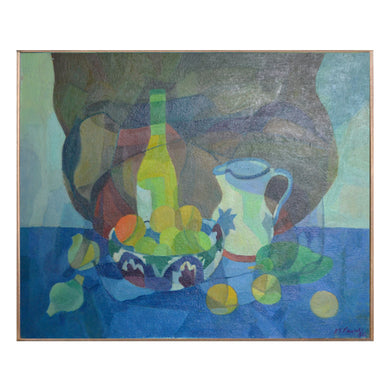 Painting, 'Jug, Bowl and Bottle' Horas Kennedy (1917-1997)
