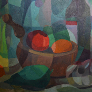 Painting, 'Mortar and Pestle' Horas Kennedy (1917-1997)