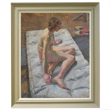 Load image into Gallery viewer, 'Nude on a Mattress' Philippa Maynard Romer (1929-2010)