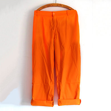 Harpoon Brand Bright Orange Workwear Trousers