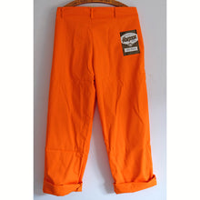 Load image into Gallery viewer, Harpoon Brand Bright Orange Workwear Trousers
