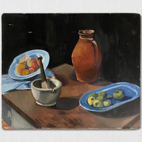 Still Life - Oil On board - c1950s
