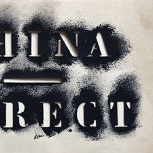 Load image into Gallery viewer, China Direct Stencil - Type Study - 1970s