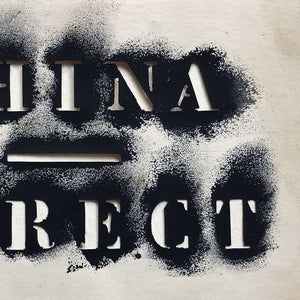 China Direct Stencil - Type Study - 1970s