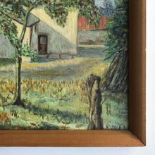 Load image into Gallery viewer, Original Framed Oil - Apple Tree Cottage