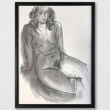 Load image into Gallery viewer, 1950s Framed Matisse Nude Print