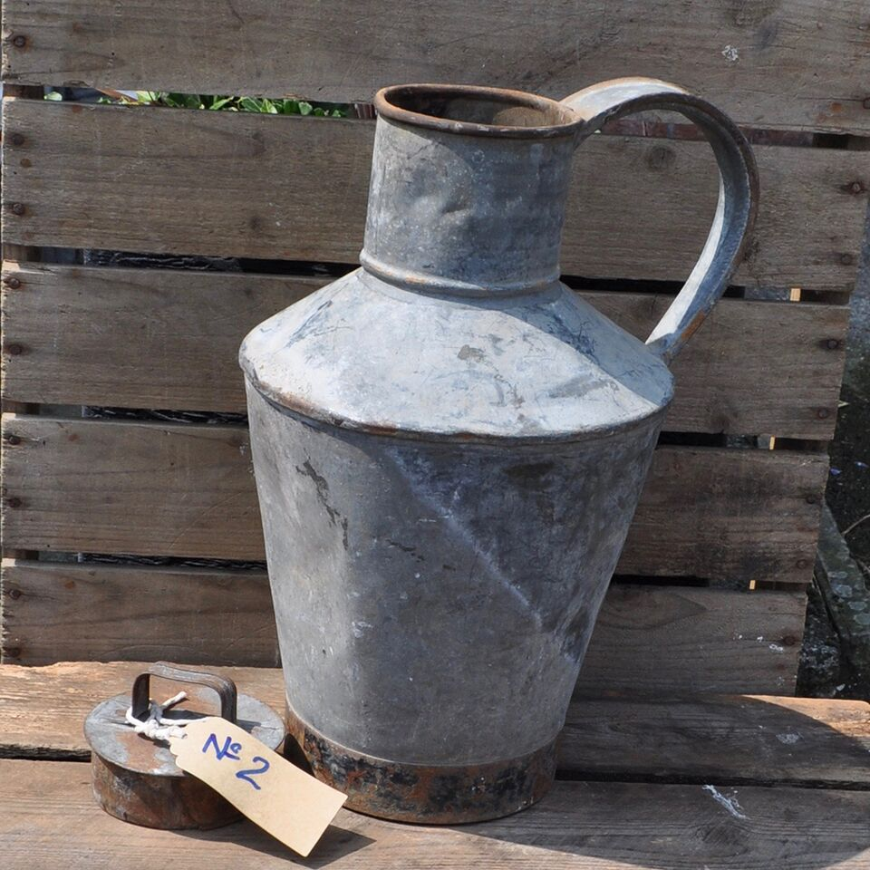 Galvanised Water Carrier - No 2