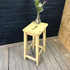 Yellow Laboratory Stool