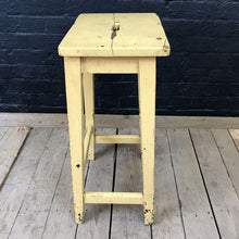 Load image into Gallery viewer, Yellow Laboratory Stool