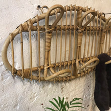 Load image into Gallery viewer, Cane / Bamboo Coat Rack - 4 Hooks
