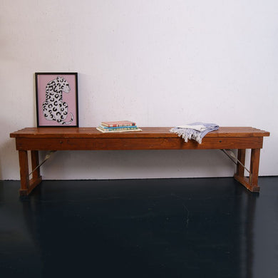 German Wooden Bench