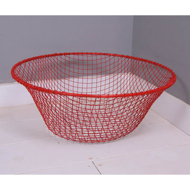 Children's Red Wire Storage Basket