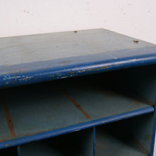 Load image into Gallery viewer, Blue metal industrial storage unit