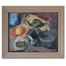 Load image into Gallery viewer, Early 20thC French Oil Painting - 'Les Chapeaux'