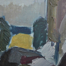 Load image into Gallery viewer, Mid Century Painting - 'Blue Landscape'