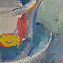 Load image into Gallery viewer, Mid Century Still Life - 'Tea and Tulips,' Karl Enoch Ohlsson