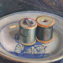 Load image into Gallery viewer, 1963 British School Still Life - 'The Sewing Box'