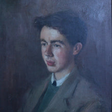 Load image into Gallery viewer, 1956 Portrait of Boy by Maude Greenway