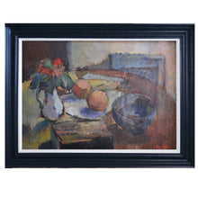 Load image into Gallery viewer, Mid Century Still Life - 'Blue Bowl' by Harry Sohlberg