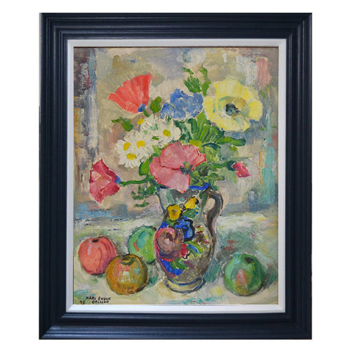 1945 Still Life - Posie with Apples