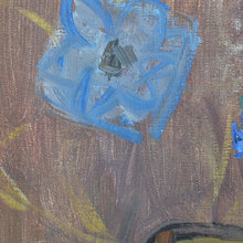 Load image into Gallery viewer, 1960 Oil Painting - Cornflowers