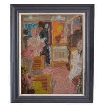 Load image into Gallery viewer, Mid century Oil Painting - Metro