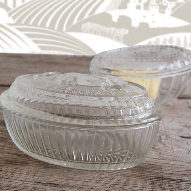French Vintage Butter Dish