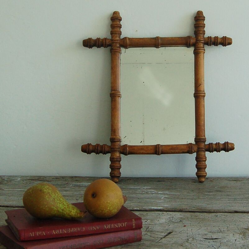 Vintage Oxford Frame Mirror