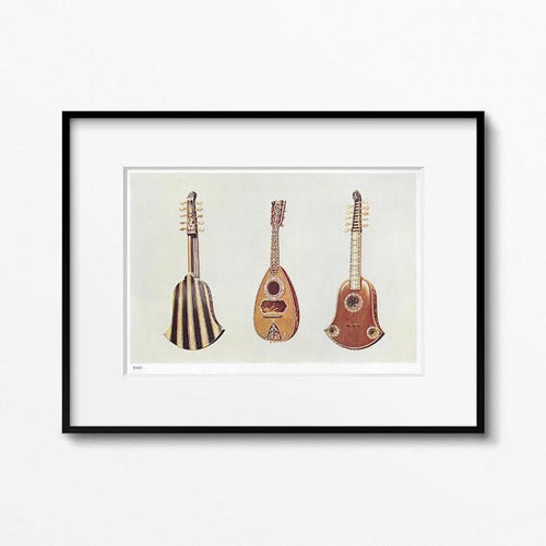 Original Screen Print - Mandolin Muses
