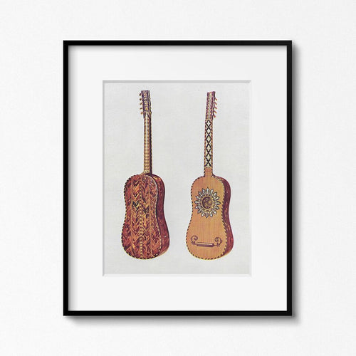 Original Screen Print - My Guitar Gently Weeps